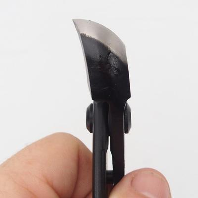 Konkave Halbrundzange 18 cm - Carbon - 1