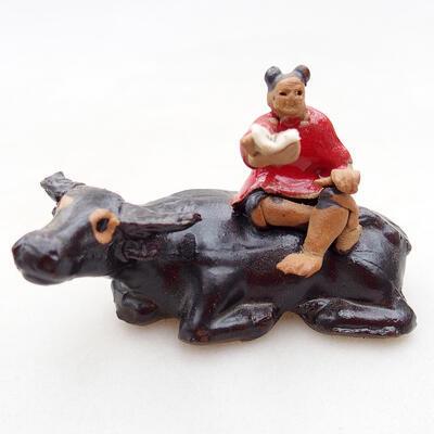 Keramikfigur - Kuh D1-1 - 1