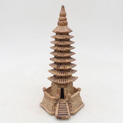 Keramikfigur - Pagode F15-1 - 1