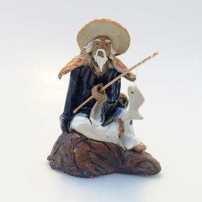 Keramik-Figur - Fisherman - 1