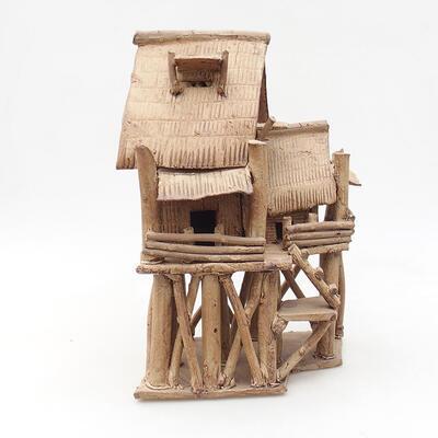 Keramikfigur - Hütte F18 - 1
