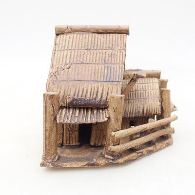 Keramikfigur - Hütte F27 - 1