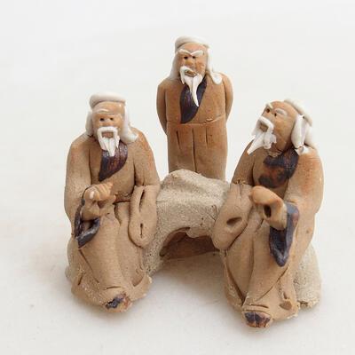 Keramikfigur - Strichmännchen H13 - 1