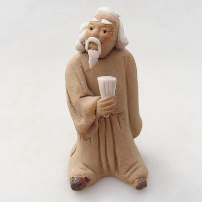 Keramikfigur - Strichmännchen H26j - 1