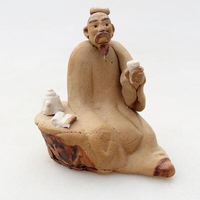 Keramikfigur - Strichmännchen H30 - 1
