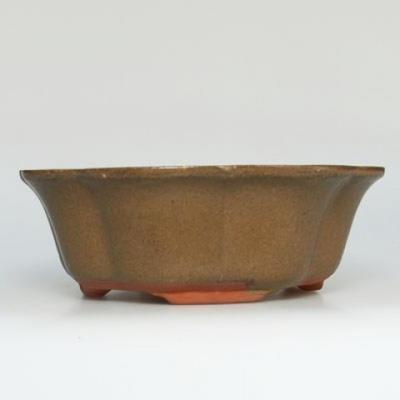 Bonsaischale aus Keramik H 06 - 14,5 x 14,5 x 4,5 cm - 1