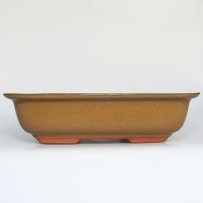 Keramik Bonsai Schüssel H 10 - 37 x 27 x 10 cm - 1