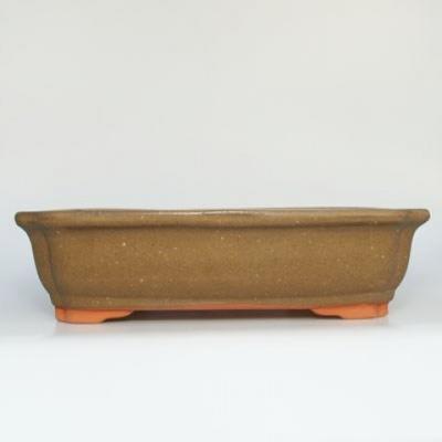 Bonsaischale aus Keramik H 20 - 26,5 x 21 x 7,5 cm - 1
