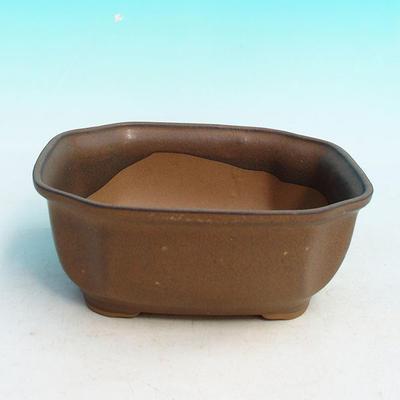 Bonsaischale aus Keramik H 31 - 14,5 x 12,5 x 6 cm - 1