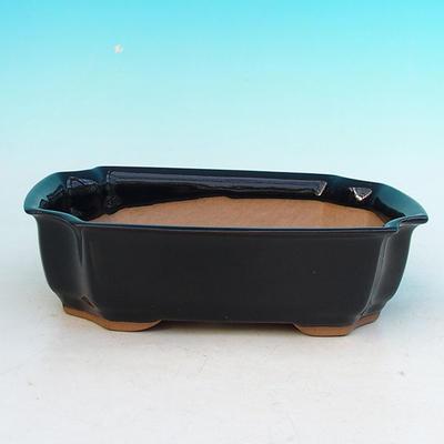 Bonsaischale aus Keramik H 03 - 16,5 x 11,5 x 5 cm - 1