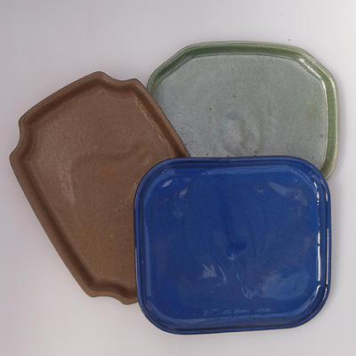 Bonsai Tablett B-1-Paar mit Bonsai Form, Farbe