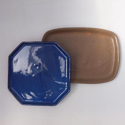 Bonsai Tablett B-4-gepaart mit Bonsai Form, Farbe