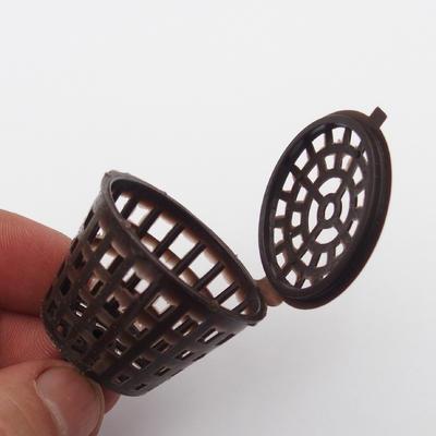 Kunststoffdüngerkörbe 10 Stück - 3,5 x 5,5 cm - 2