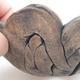 Keramikschale 12 x 12 x 6 cm, graue Farbe - 2/3