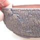 Keramische Bonsai-Schale 15 x 15 x 6 cm, Farbe rissig - 2/3