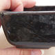 Keramische Bonsai-Schale 11,5 x 8,5 x 4 cm, Farbe grün - 2/4