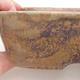 Keramische Bonsai-Schale 23 x 18 x 5 cm, Farbe braun-grün - 2/4