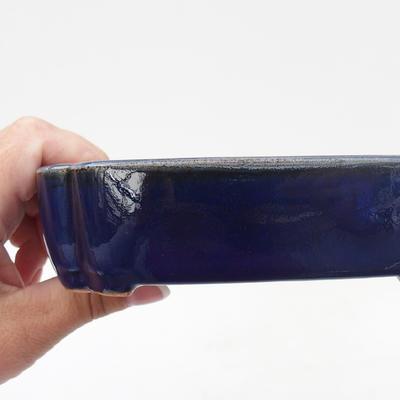Keramik Bonsai Schüssel 10,5 x 8,5 x 4 cm, Krebse Farbe - 2