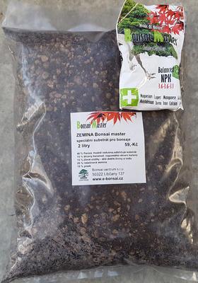 Bonsai Boden Bonsai Master 7 Liter + 20 g frei Dünger - 2