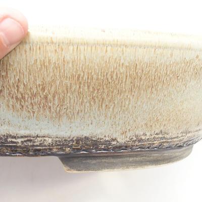Bonsai-Schale 38 x 30 x 9 cm, Farbe grau-braun - 2