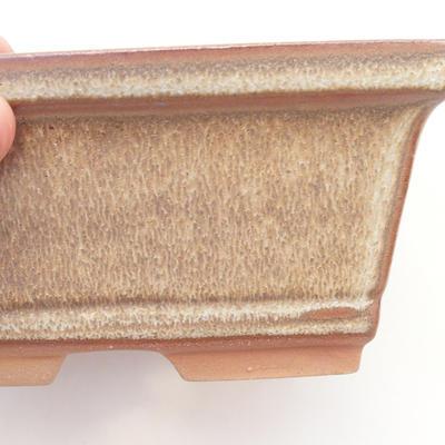 Bonsai-Schale 14,5 x 12 x 7 cm, Farbe braun - 2