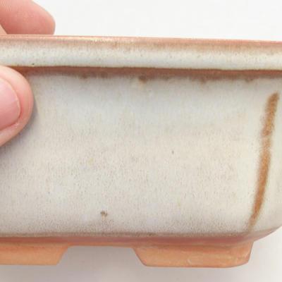 Bonsai-Schale 14,5 x 12 x 6,5 cm, beige Farbe - 2