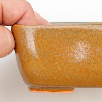 Keramik Bonsai Schüssel 2. Wahl - 16 x 10 x 5,5 cm, braune Farbe - 2