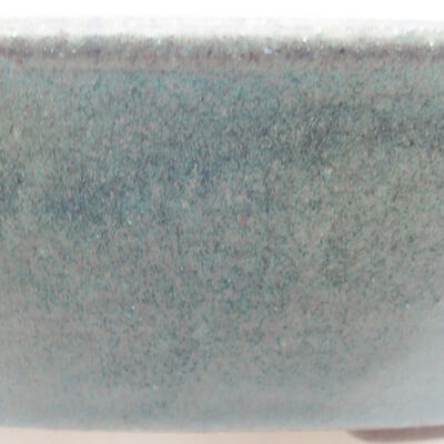 Keramische Bonsai-Schale 18,5 x 18,5 x 4 cm, Farbe grün - 2