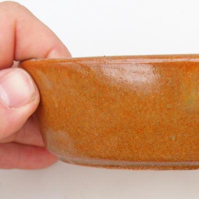 Keramik Bonsai Schüssel 2. Wahl - 15 x 9 x 4 cm, braune Farbe - 2