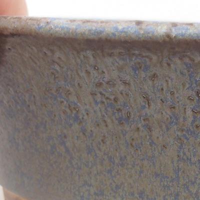 Keramische Bonsai-Schale 26,5 x 21,5 x 6 cm, Farbe blau - 2