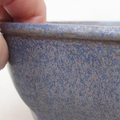 Keramische Bonsai-Schale 15,5 x 15,5 x 6,5 cm, Farbe blau - 2