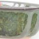 Keramische Bonsai-Schale 13,5 x 11,5 x 6 cm, Farbe grün - 2/4
