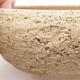 Keramische Bonsai-Schale 15,5 x 15,5 x 5,5 cm, graue Farbe - 2/4