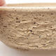 Keramische Bonsai-Schale 16,5 x 16,5 x 5,5 cm, graue Farbe - 2/4