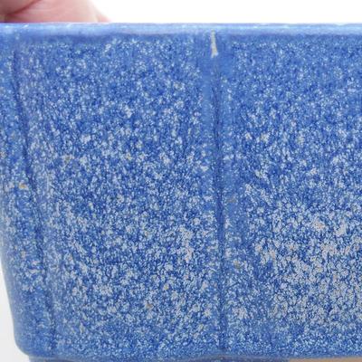 Keramische Bonsai-Schale 20 x 17 x 6,5 cm, Farbe blau - 2
