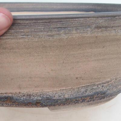 Bonsai-Schale 34 x 27 x 10 cm, Farbe beige - 2