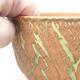 Keramik Bonsai Schüssel 14 x 14 x 8,5 cm, Farbe rissig - 2/4
