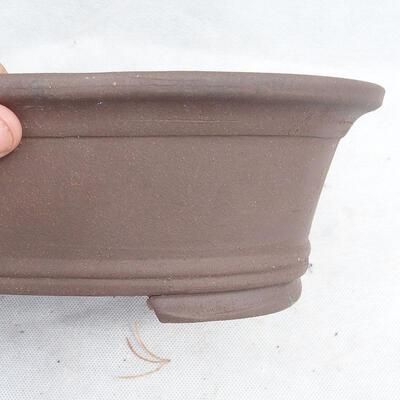 Bonsaischale 29 x 20 x 9 cm, graue Farbe - 2