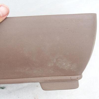 Bonsaischale 34 x 26 x 13 cm, graue Farbe - 2