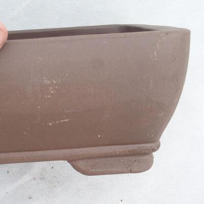 Bonsaischale 29 x 21 x 9,5 cm, graue Farbe - 2