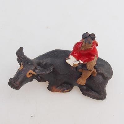 Keramische Figur - Büffel - 2
