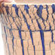 Keramische Bonsai-Schale 13 x 13 x 12,5 cm, Farbe blau - 2/3