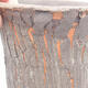 Keramische Bonsai-Schale 11 x 11 x 11 cm, graue Farbe - 2/3