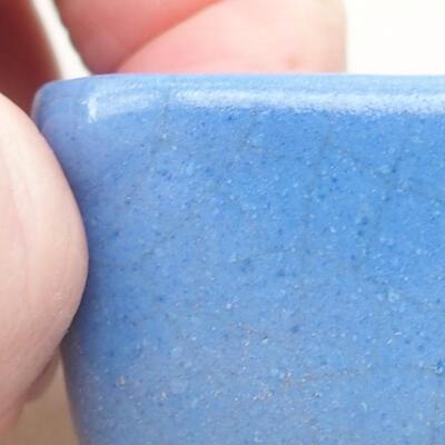 Mini Bonsai Schüssel 3,5 x 3,5 x 2,5 cm, Farbe blau - 2