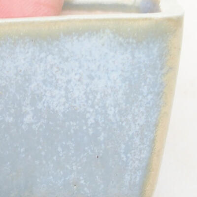 Mini Bonsai Schüssel 3 x 3 x 2,5 cm, Farbe blau - 2
