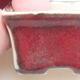 Mini Bonsai Schüssel 4 x 3 x 2,5 cm, Farbe rot - 2/3