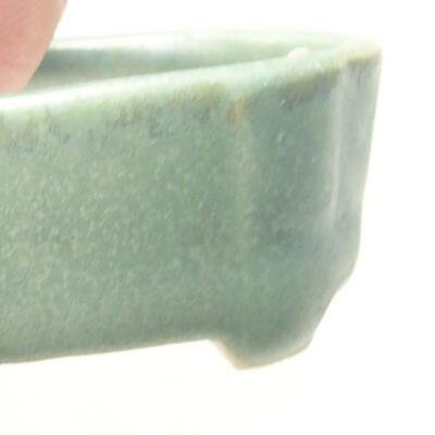 Mini Bonsai Schüssel 4 x 2,5 x 1,5 cm, Farbe grün - 2
