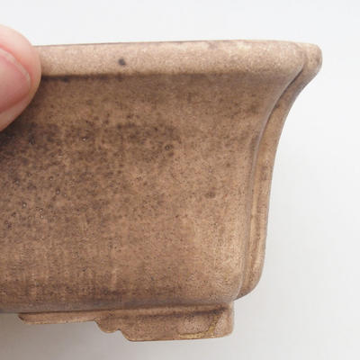 Keramik Bonsai Schüssel 25 x 19 x 7 cm, beige Farbe, zweite Qualität - 2