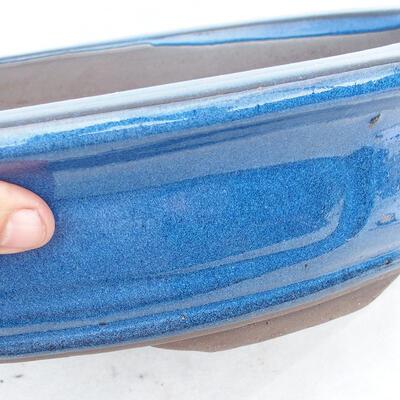 Bonsaischale 51 x 41 x 10 cm, Farbe blau - 2