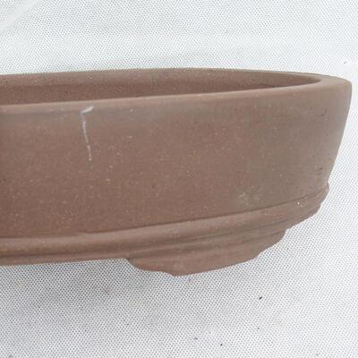 Bonsaischale 21 x 20 x 7 cm, graue Farbe - 2